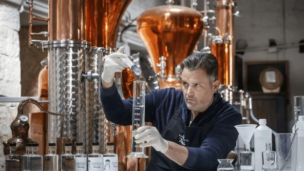 UK distilleries making hand sanitizer