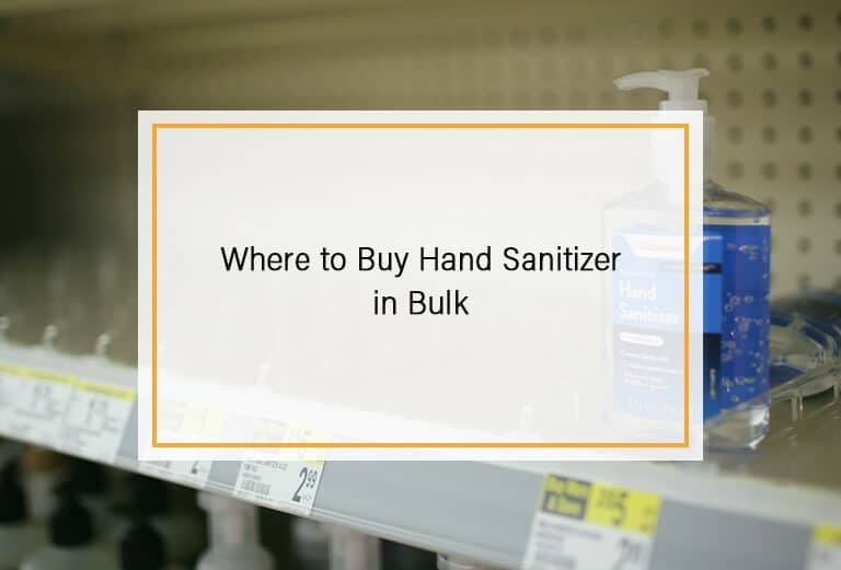 Where to Buy Hand Sanitizer in Bulk