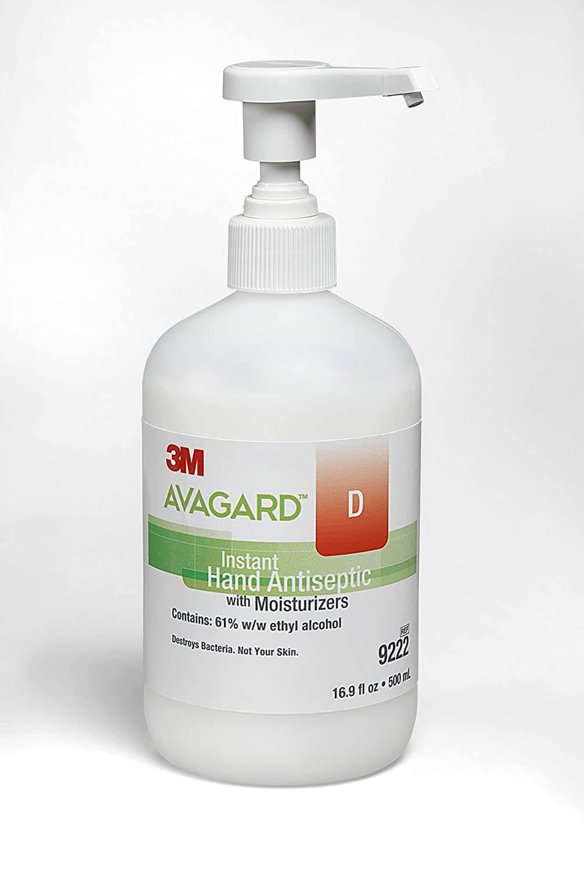 avagard instant hand sanitizer with moisturizer