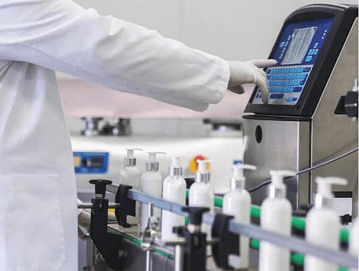 hand sanitizer factory bulk production