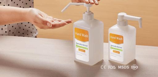 hand sanitizer pump bottle