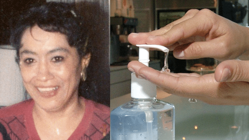 lupe hernandez claim on invention of hand sanitizer