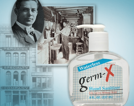 vi jon marketing first germ x hand sanitizer
